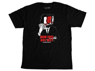 "The Shadow Conspiracy ""How Free"" T-Shirt - Black"