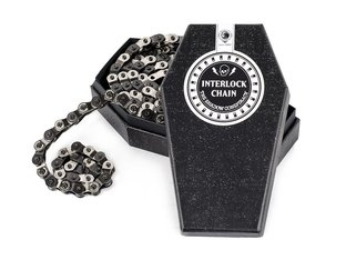 "The Shadow Conspiracy ""Interlock V2"" Halflink Chain - Silver/Black"