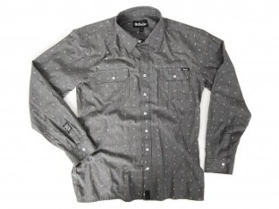 "The Shadow Conspiracy ""Palladium Button Up"" Hemd - Grey"