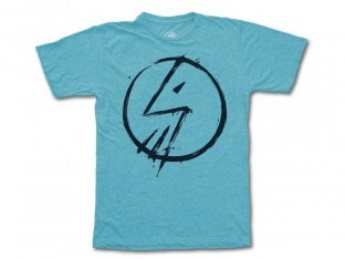"The Shadow Conspiracy ""Tag"" T-Shirt - Heather Aqua/Black"