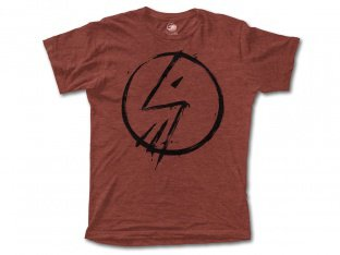 "The Shadow Conspiracy ""Tag"" T-Shirt - Rust Brown/Black"