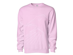 "The Shadow Conspiracy ""Thin Line Crew"" Pullover - Pink"