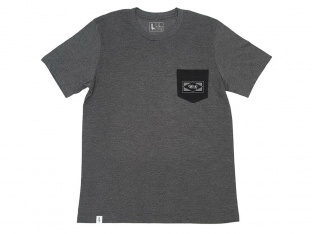 "The Trip ""Diamond Pocket"" T-Shirt - Dark Grey"