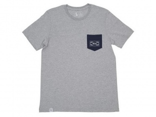 "The Trip ""Diamond Pocket"" T-Shirt - Light Grey"