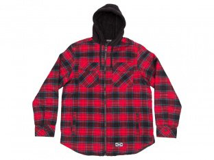 "The Trip ""Flannel"" Jacket - Red"