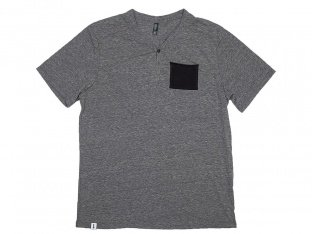 "The Trip ""Henley Pocket"" T-Shirt - Grey"