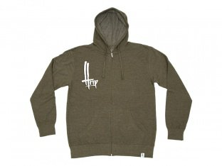 "The Trip ""OG"" Hooded Zipper - Fatigue Green"