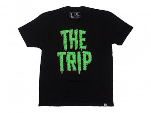 "The Trip ""Slime"" T-Shirt - Black"