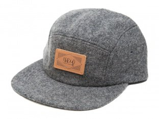 "The Trip ""Wool Leather Patch"" Cap"