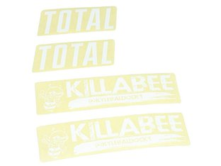"Total BMX ""Killabee K3"" Frame Stickerset"
