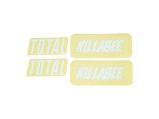 "Total BMX ""Killabee K4"" Rahmen Stickerset"