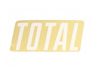 "Total BMX ""New Style"" Sticker"