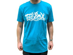 "Total BMX ""Original Logo"" T-Shirt - Blue"