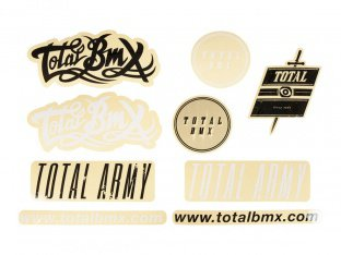 "Total BMX ""Sheet Mix"" Stickerset"