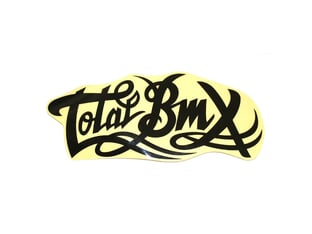 "Total BMX ""Small Logo"" Sticker"
