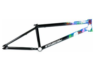 "Total BMX ""TWS Mark Webb"" BMX Rahmen - Ruckerz Delight Black"