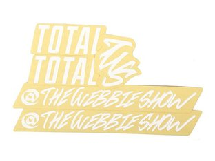 "Total BMX ""TWS"" Frame Stickerset"