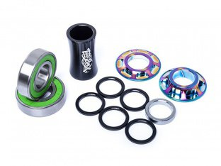 "Total BMX ""Team Mid BB"" Bottom Bracket - Oil Slick"