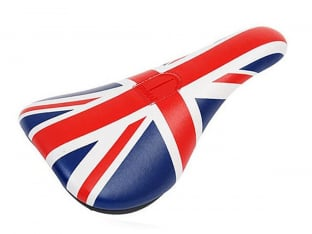 "Total BMX ""UK Union Jack Slim"" Pivotal Sattel"