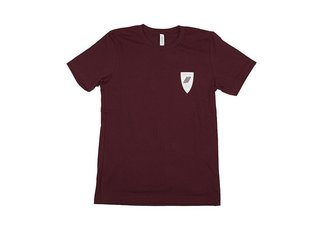 "United Bikes ""Knightsbridge"" T-Shirt - Burgundy"