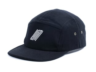 "United Bikes ""Reborn 5 Panel"" Kappe - Black"
