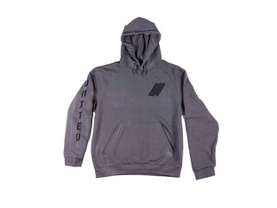 "United Bikes ""Reborn"" Hooded Pullover - Darkgrey"