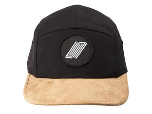 "United Bikes ""Reborn Patch 5 Panel"" Cap - Black/Brown"