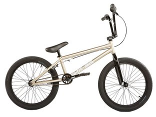 "United Bikes ""Recruit Junior 20"" 2020 BMX Bike - Champagne Silver"