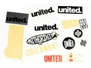 United Bikes Stickerset