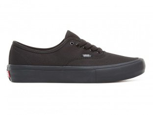 "Vans ""Authentic Pro"" Shoes - Black/Black"