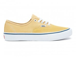"Vans ""Authentic Pro"" Shoes - Ochre/White"