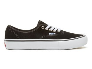 "Vans ""Authentic Pro"" Shoes - (Suede) Black"