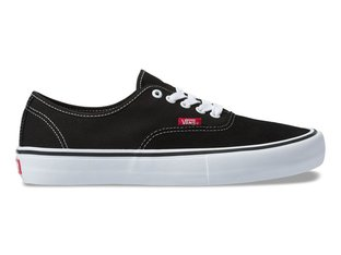 "Vans ""Authentic Pro"" Shoes - Black/True White"