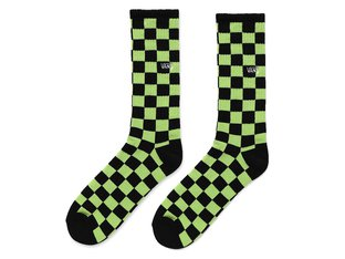 "Vans ""Checkerboard II Crew"" Socks - Sharp Green-Black"