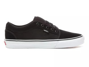 "Vans ""Chukka Low"" Shoes - (Suede) Black/True White"