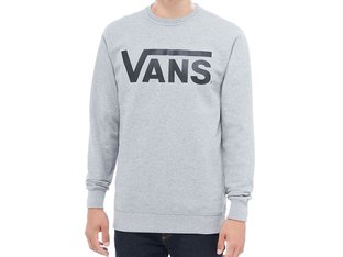 "Vans ""Classic Crew"" Pullover - Concrete Heather/Black"