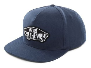 "Vans ""Classic Patch Snapback"" Kappe - Gibraltar Sea"