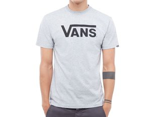 "Vans ""Classic"" T-Shirt - Athletic Heather/Black"