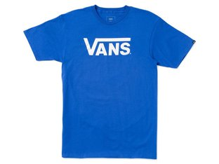 "Vans ""Classic"" T-Shirt - Royal/White"
