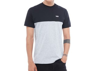 "Vans ""Colorblock"" T-Shirt - Black/Atheltic Heather"