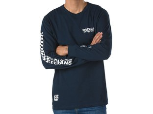 "Vans ""Crossed Sticks LS"" Longsleeve - Navy"