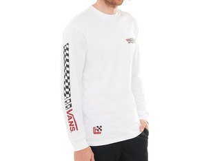"Vans ""Crossed Sticks LS"" Longsleeve - White"