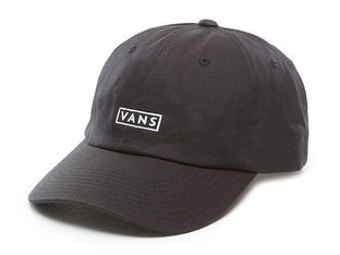 "Vans ""Curved Bill Jockey"" Cap - Black"