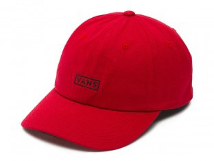"Vans ""Curved Bill Jockey"" Cap - Chili Pepper Red"