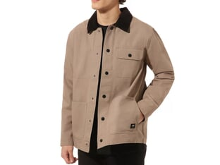 "Vans ""Drill Chore"" Coat Jacket - Military Khaki"