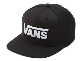 "Vans ""Drop V II"" Cap - Black/White"