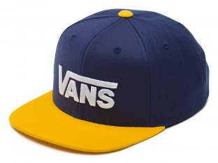 "Vans ""Drop V II"" Cap - Dress Blues Old Gold"