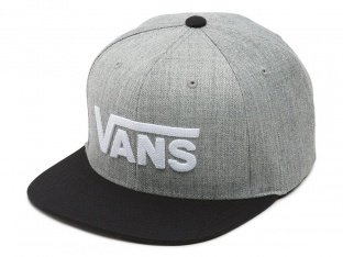 "Vans ""Drop V II"" Cap - Heather Grey"