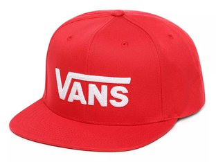 "Vans ""Drop V II"" Cap - Racing Red"