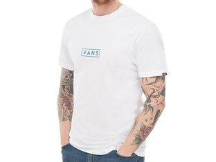 "Vans ""Easy Box"" T-Shirt - White/Lapis Blue"